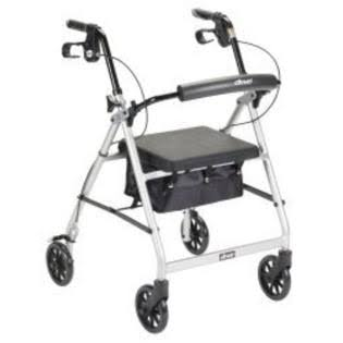 McKesson 4 Wheel Rollator (146-R726SL)