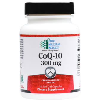 Ortho Molecular Products Coq10 Dietary Supplement - 60 Soft Gels
