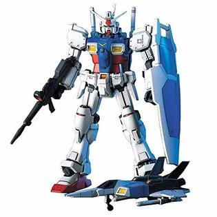Bandai Hobby Gundam High Grade Universal Century Number 13 GP01 Gundam Model Kit