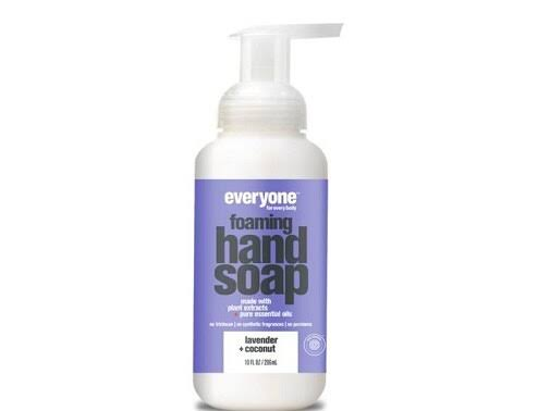 Everyone 244241 Lavender & Coconut Foaming Hand Soap