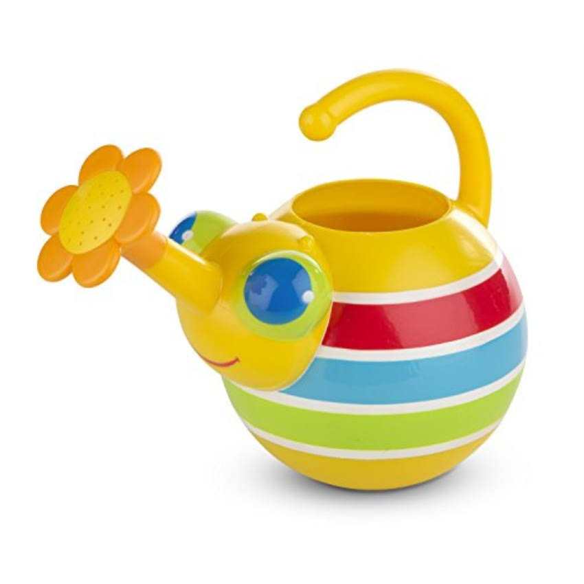 Melissa and Doug Sunny Patch Giddy Buggy Watering Can with Flower-Shaped Spout