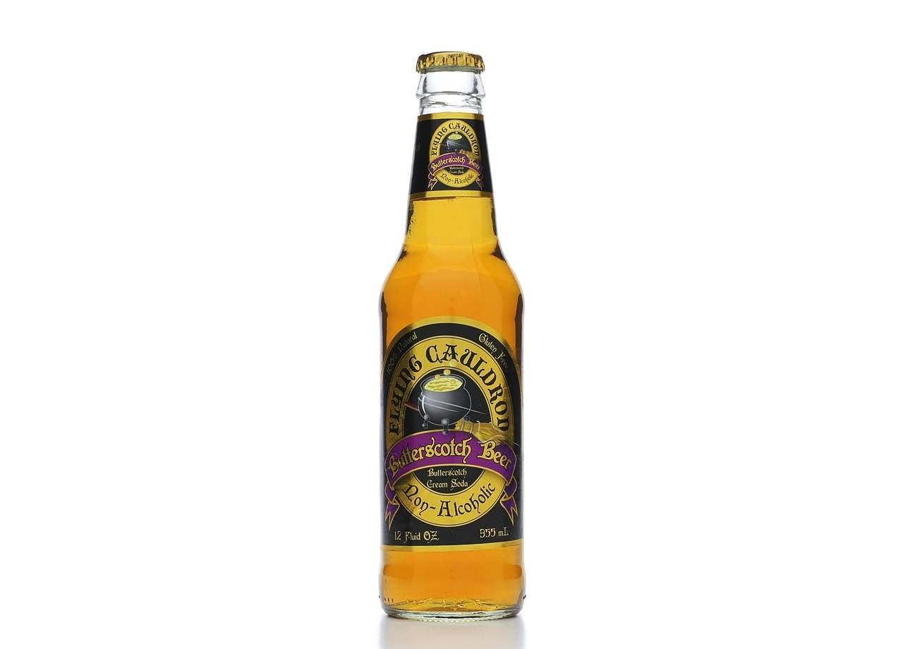 Reeds Butterscotch Beer, Cream Soda, Non-Alcoholic - 12 fl oz