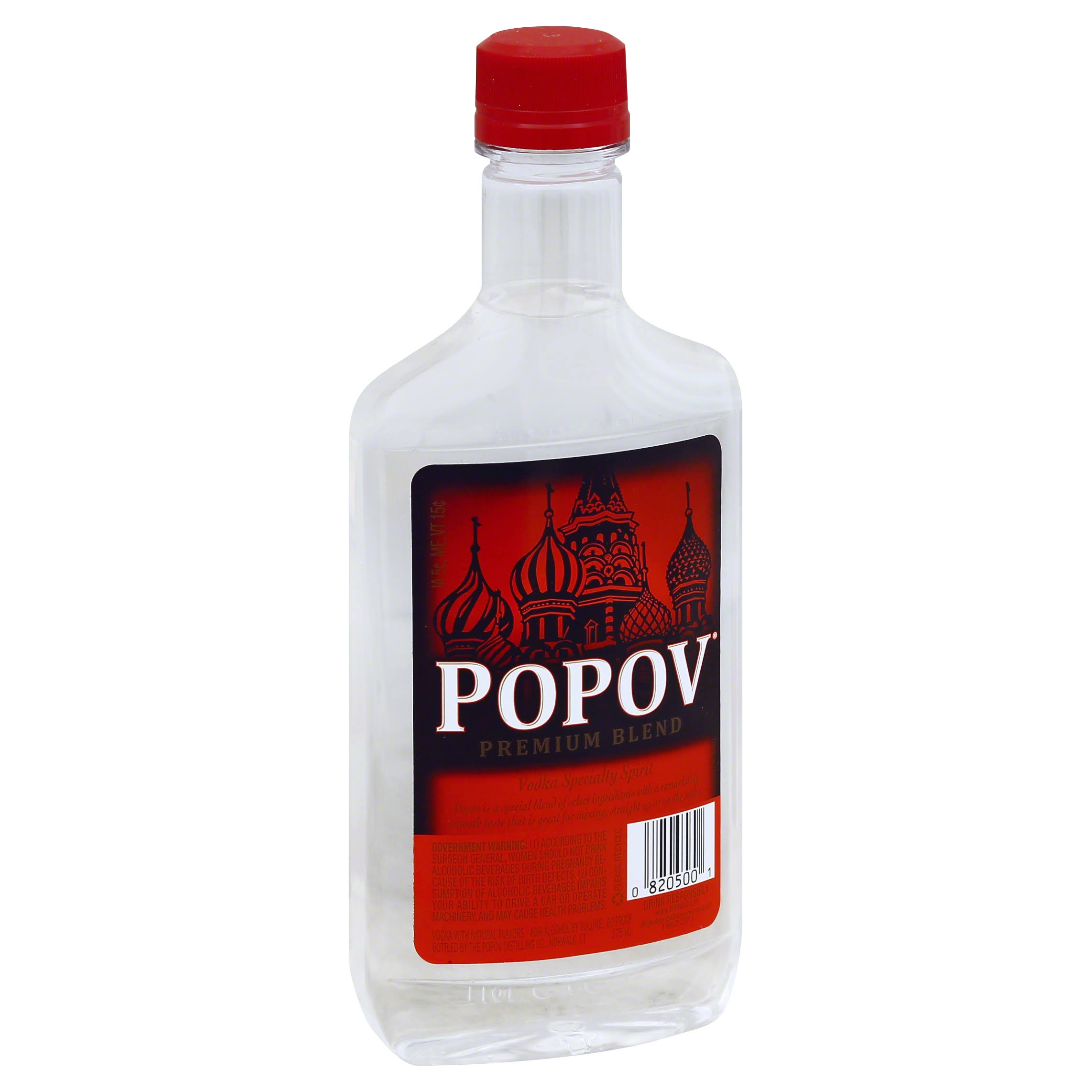 Popov Vodka - 375ml