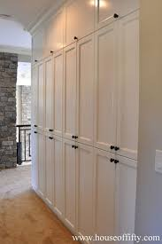 Tall Narrow Linen Cabinet With Doors by 25 Best Hallway Closet Ideas On Pinterest Entryway Closet