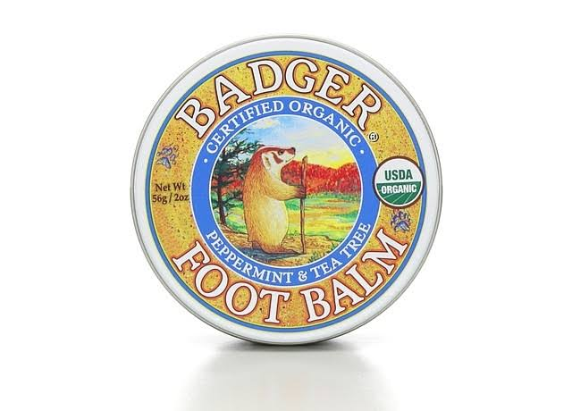 Bedger Organic Foot Balm - Peppermint & Tea Tree, 2 oz