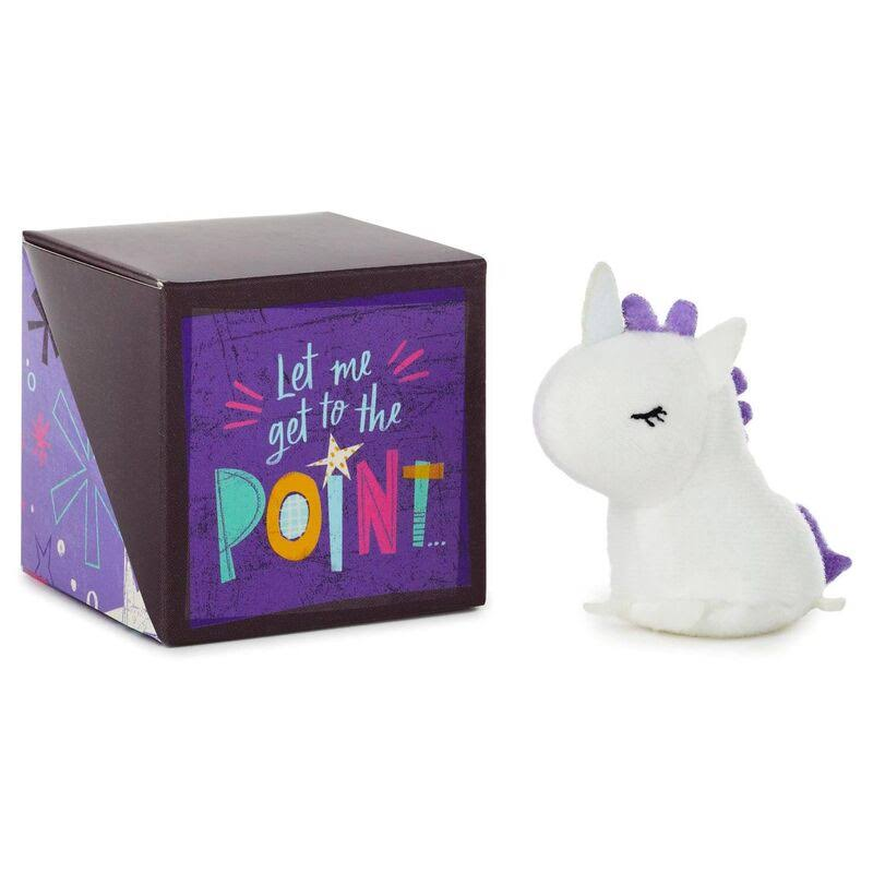 Hallmark Mini You're One-of-a-Kind Care Cube with Unicorn Token