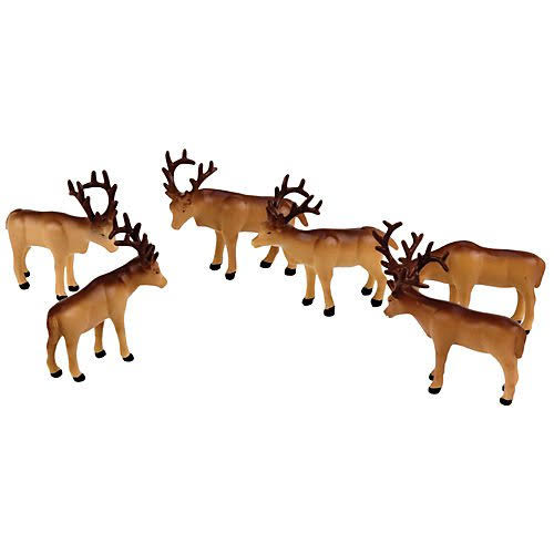 Lionel The Polar Express Caribou Figures Pack