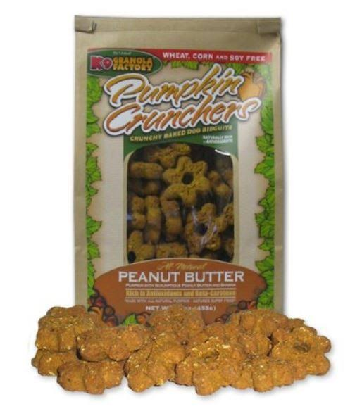 K9 Granola Factory Pumpkin Crunchers Peanut Butter & Banana - 14 oz