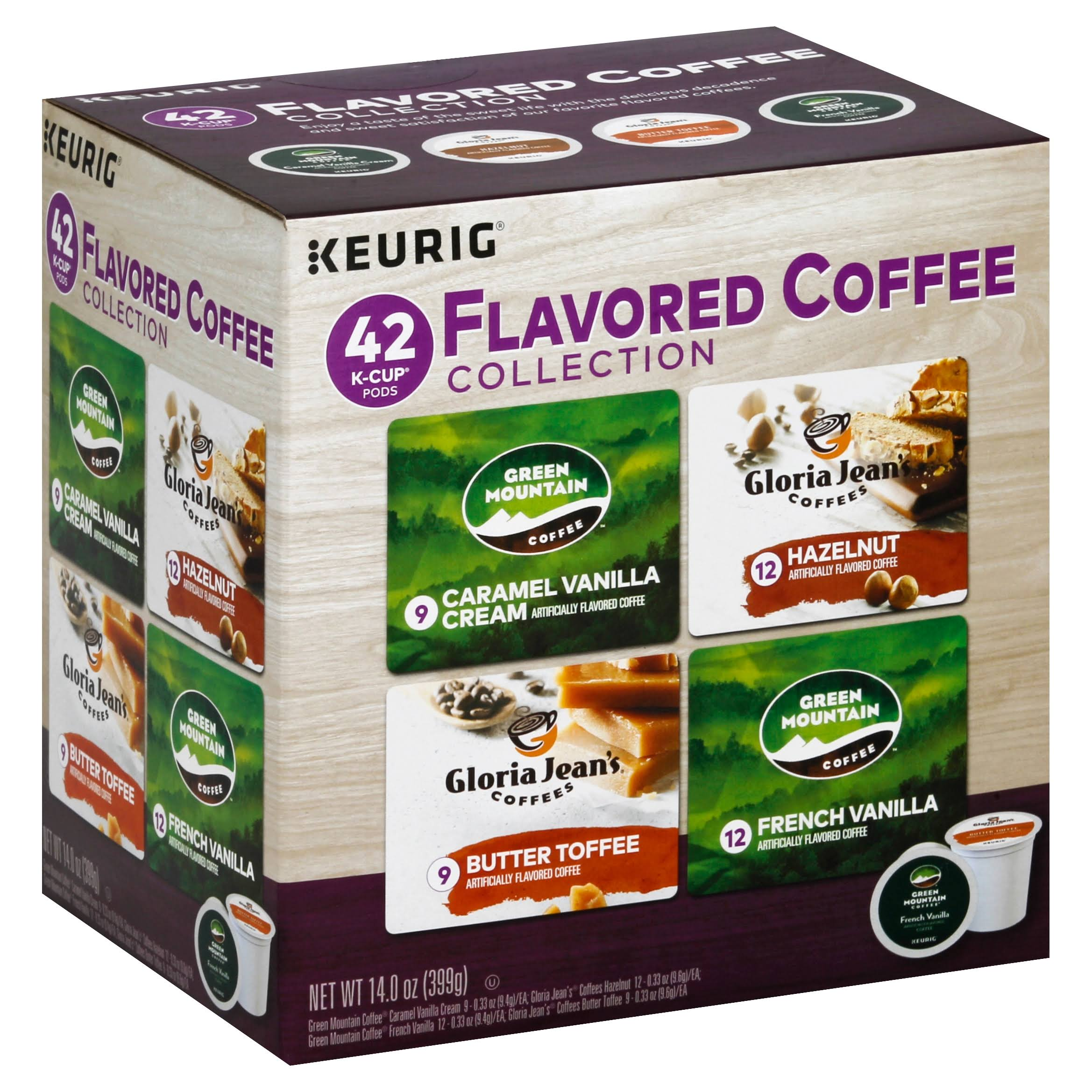 Keurig K Cup Pods Flavored Coffees Collection - 42ct