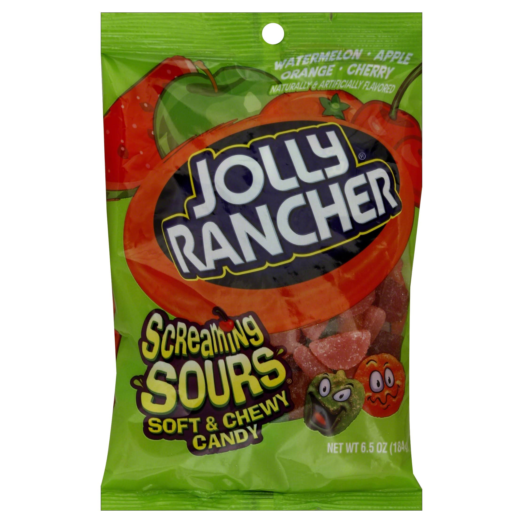Jolly Rancher Sours Soft and Chewy Candy - 6.5oz, Original Flavor