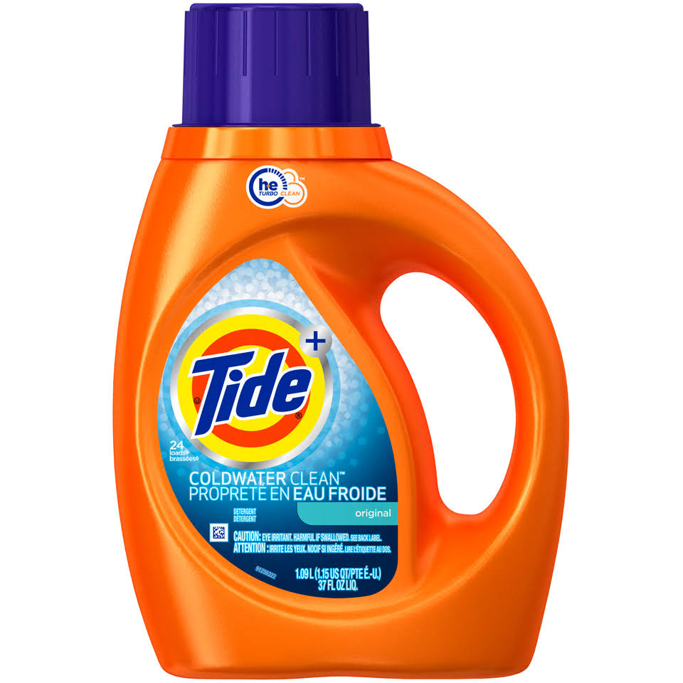 Tide Coldwater Clean Fresh Scent Turbo Clean Liquid Laundry Detergent - 1.09L
