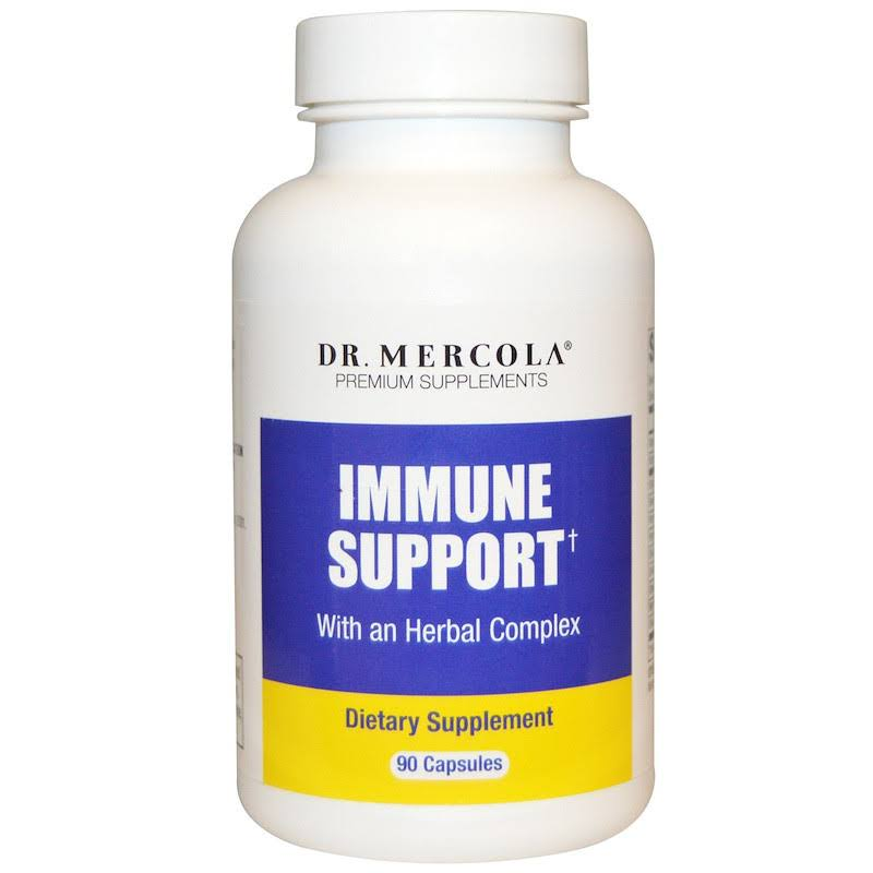 Dr Mercola Premium Supplements Immune Support Dietary Supplement - 90ct
