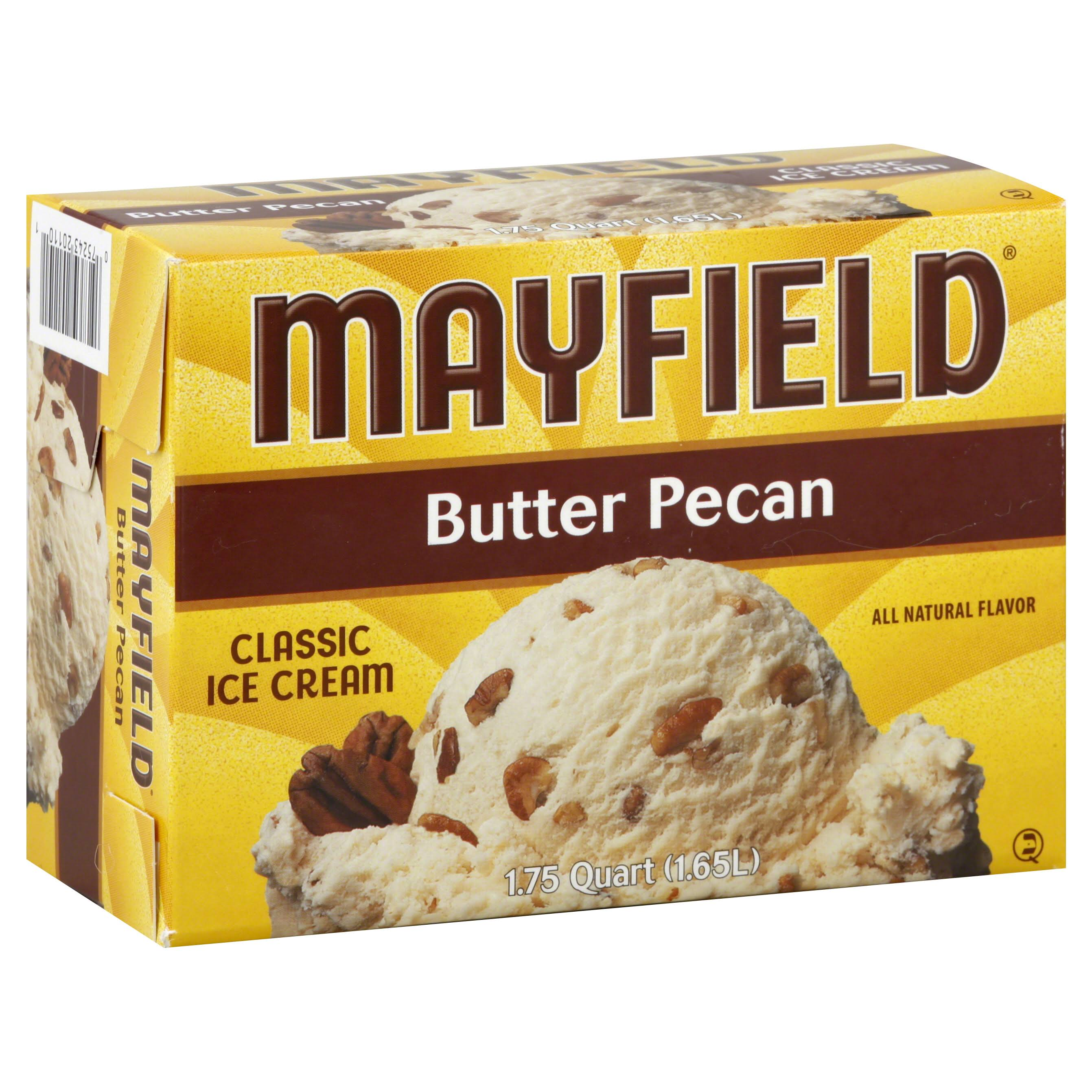 Mayfield Ice Cream - Butter Pecan, 1.65l
