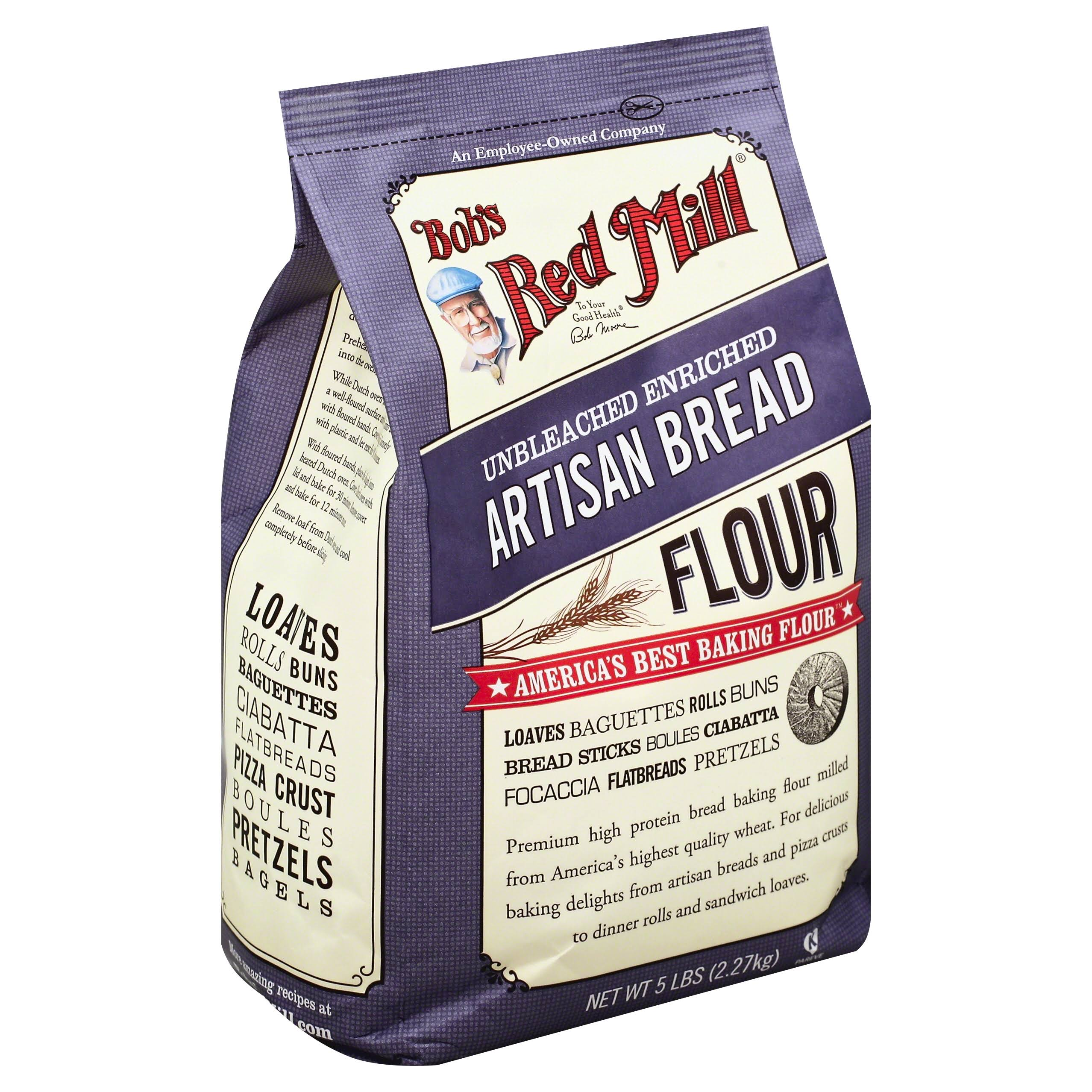 Bob's Red Mill Artisan Bread Flour - 5lbs