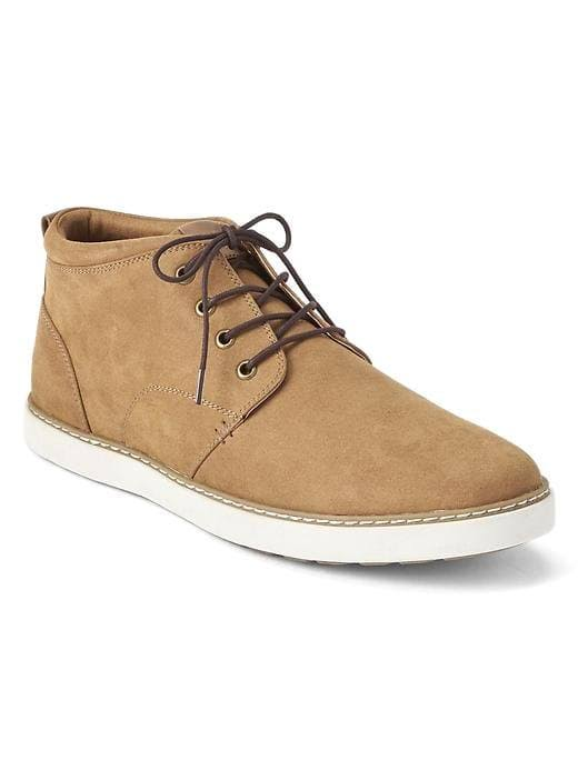Gap Mens Lace-Up Casual Shoes Tan Brown Size 8