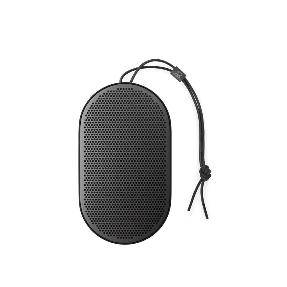 Bang & Olufsen Beoplay P2, Black, Fully Portable Bluetooth Speaker | B&O | Bang and Olufsen