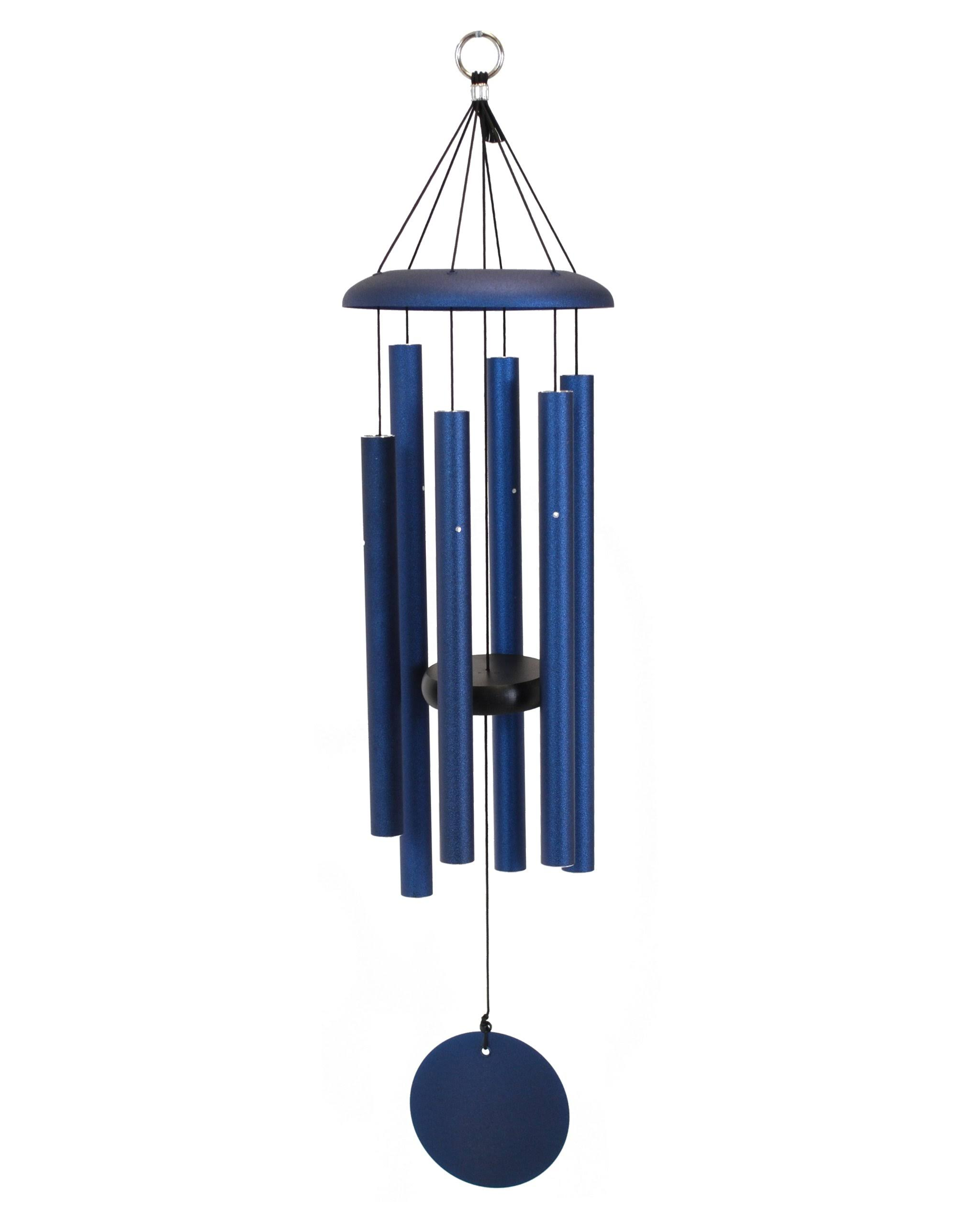 Corinthian Bells Windchime, Midnight Blue, 29""