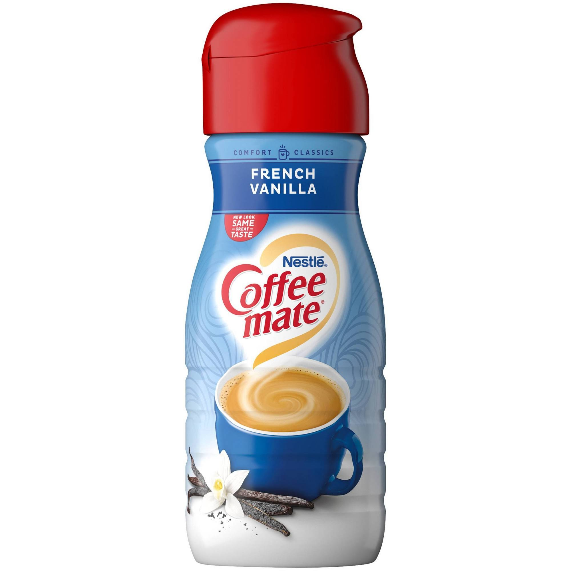 Coffee Mate Liquid Coffee Creamer - French Vanilla, 16oz