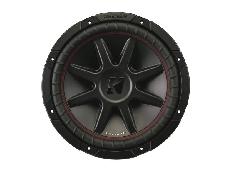 Kicker CompVR DVC Subwoofer - 800W, 4-ohm, 12in
