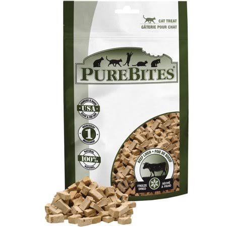 Pure Bites Cat Treats - Beef Liver, 44g