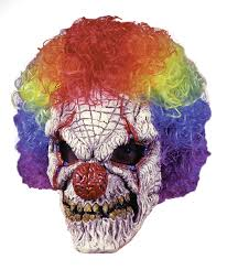 Halloween H20 Mask For Sale by Mens Scary Clown Costume Mask Halloween Evil Sinister Circus