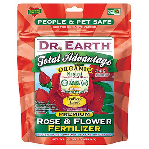 Dr Earth Total Advantage Rose and Flower Fertilizer - 1lb
