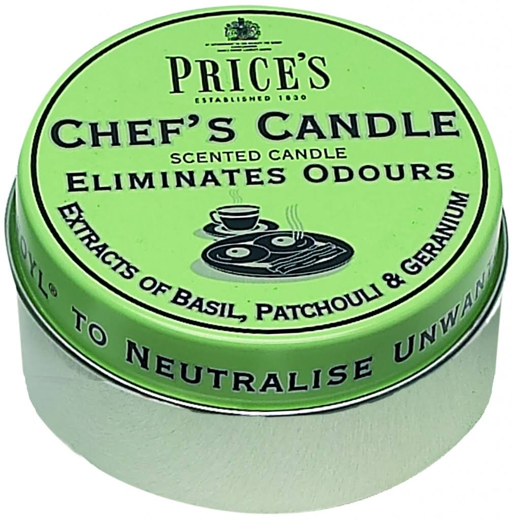 Prices Chefs Scented Candle Tin