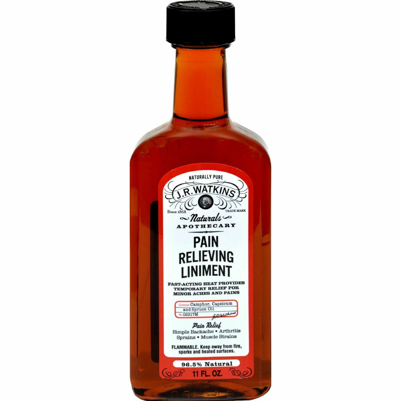 J. R. Watkins The Original Pain Relieving Liniment - 11oz