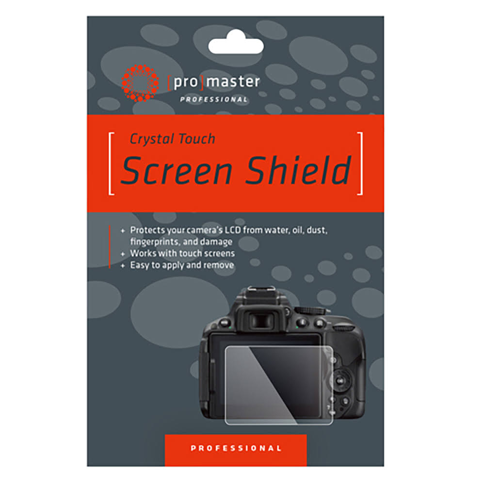 ProMaster Crystal Touch Screen Shield - Sony a6400