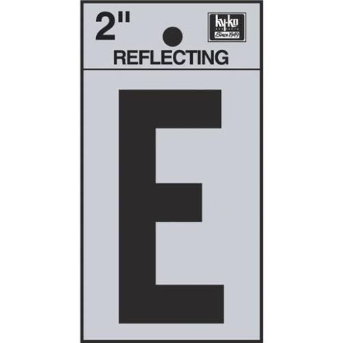 "Hy-ko Products Reflective House Letter - ""E"", 2"""