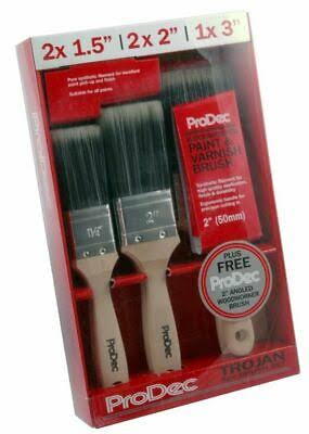 ProDec 6pc Trojan Brush Set