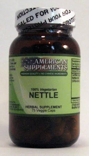 American Supplements Nettles Veggie Capsules - 75 count