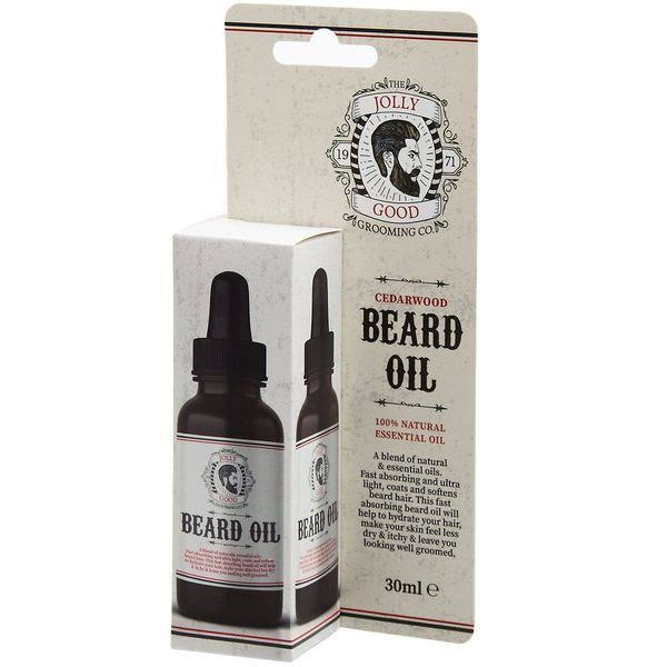 The Jolly Good Grooming Co: Cedarwood Beard Oil 30ml