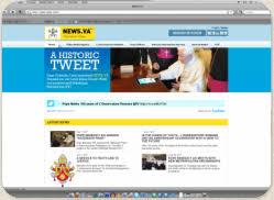 Ватиканский сайт News.va считает клики