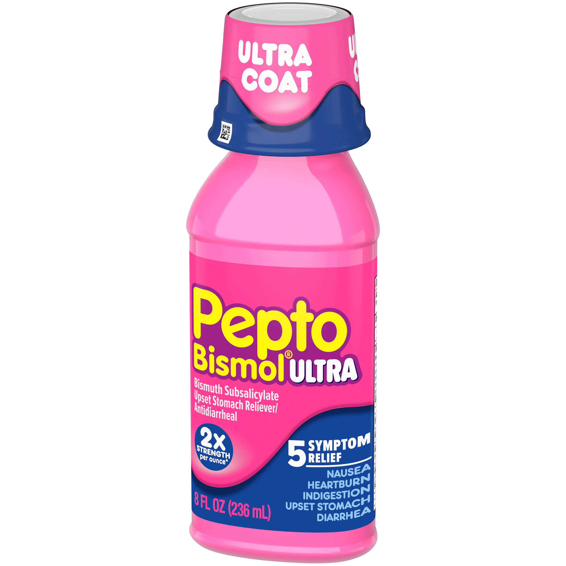 Pepto-Bismol Max Strength Bismuth Subsalicylate Upset Stomach Reliever Antidiarrheal - 8oz