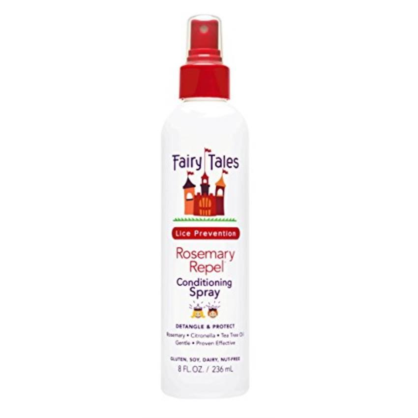 Fairy Tales Lice Prevention Conditioning Spray - Rosemary Repel, 8oz