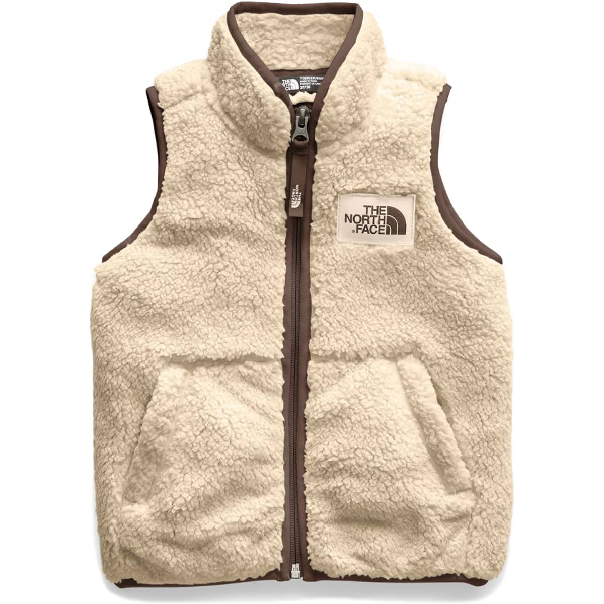 The North Face Toddler Campshire Vest Pale Khaki 5