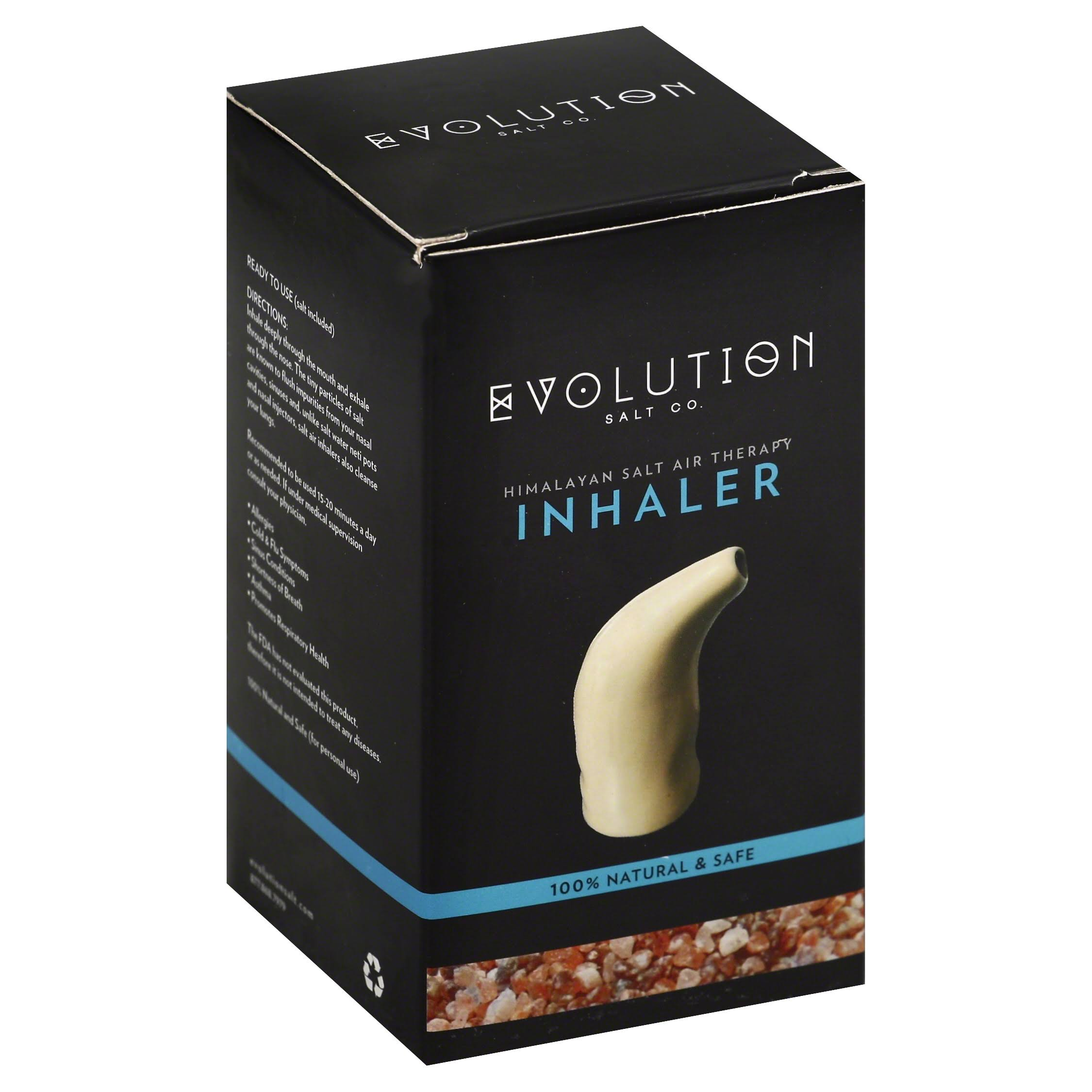 Evolution Salt Inhaler, Himalayan Salt Air Therapy