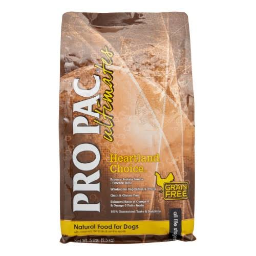 Pro Pac Ultimates Heartland Choice Chicken & Potato Grain-Free Dry Dog Food, 5-lb