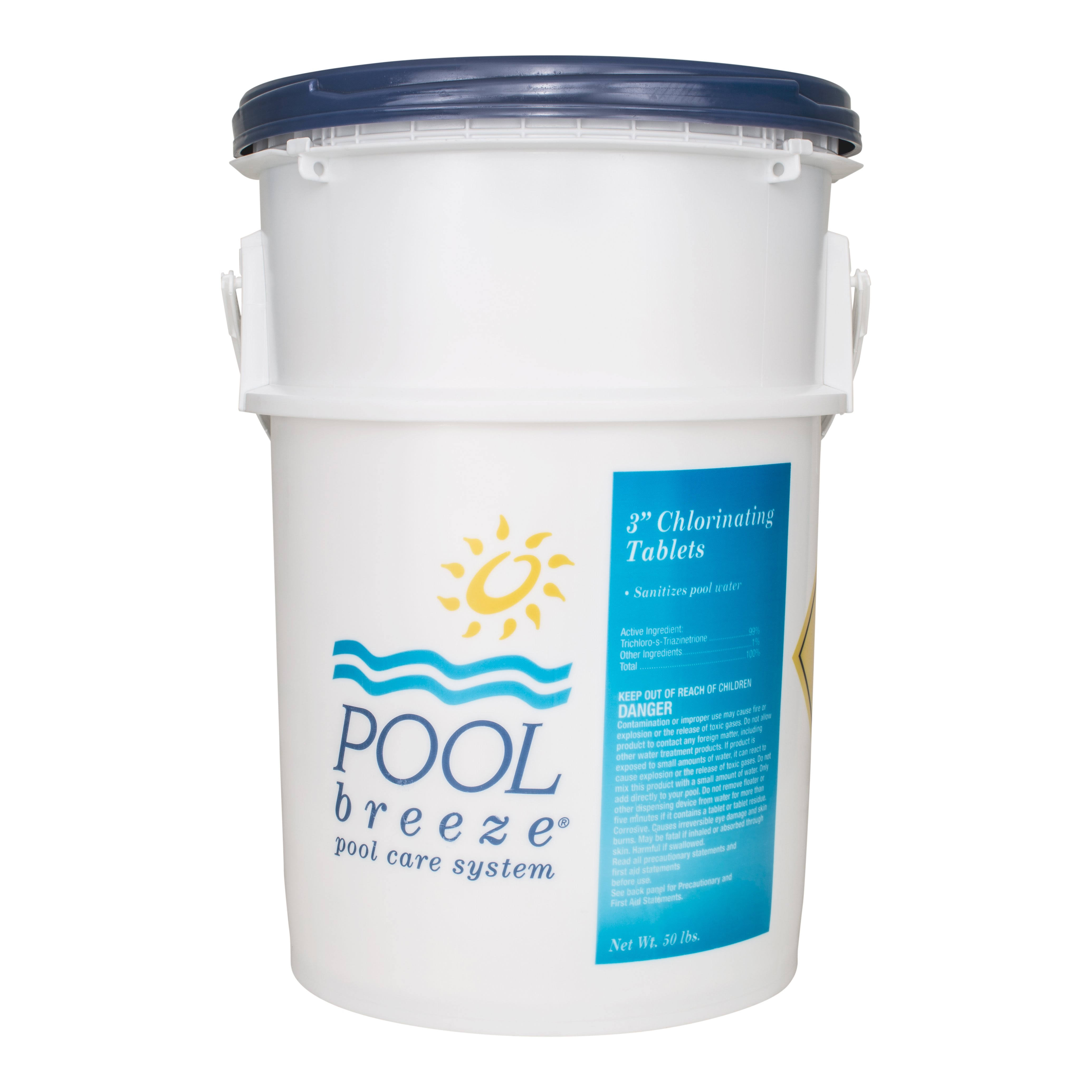 Pool Breeze 3 inch Chlorinating Tablets (50 lbs) 88413