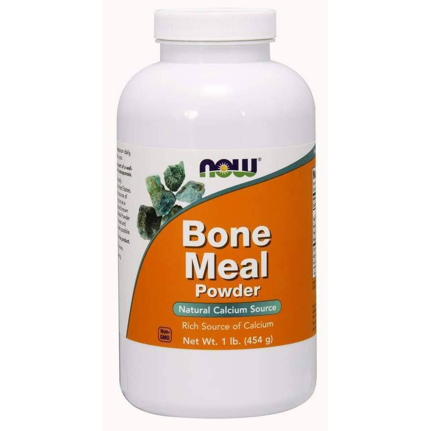Now Foods Bone Meal Powder - 454g