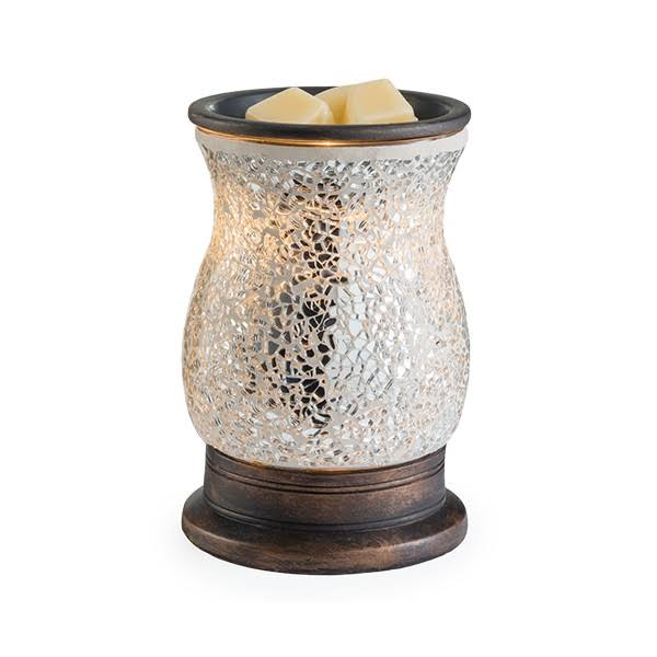 Candle Warmers Etc. Reflection Glass Illumination Fragrance Warmer