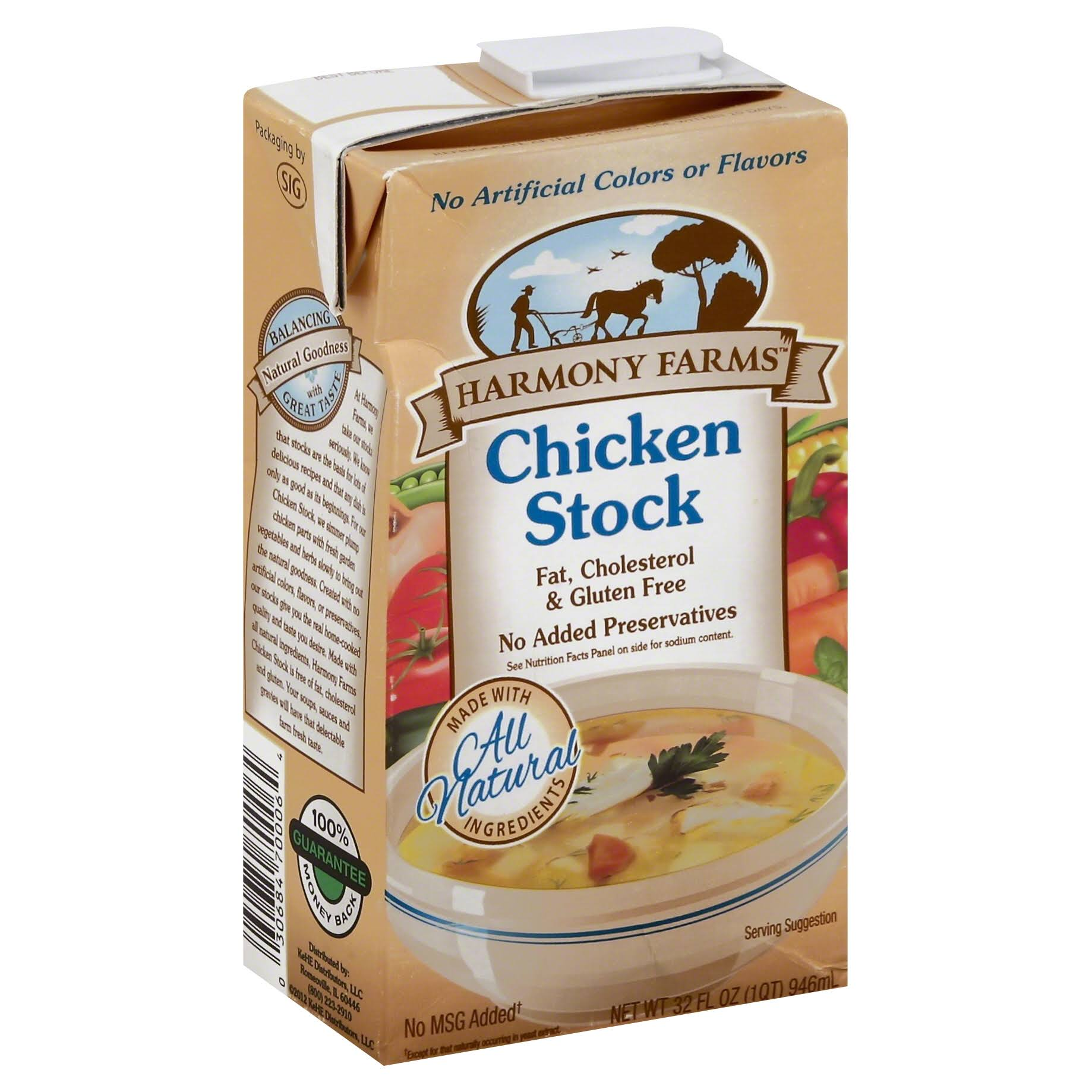 Harmony Farms Chicken Stock - 32oz