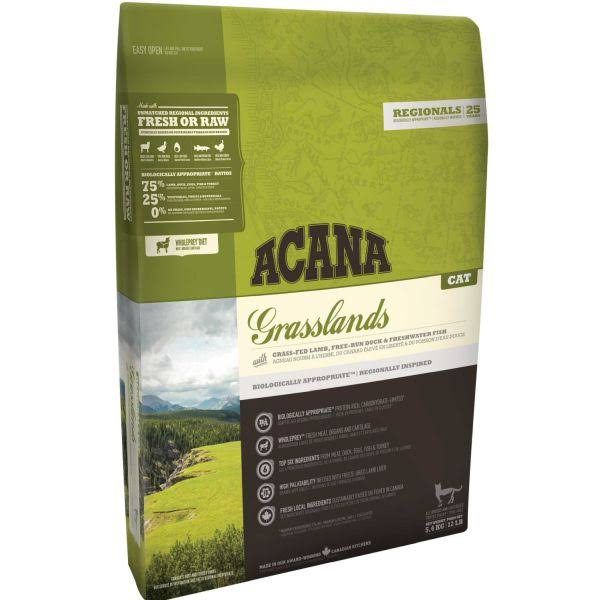 Acana Grasslands Cat Food 1.8kg