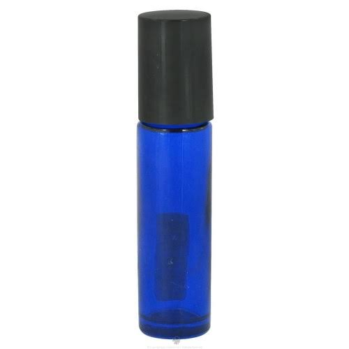 Wyndmere Naturals Cobalt Blue Glass Bottle Roll-On, 0.27 Ounces