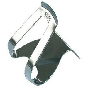MKS Half Clip Mini steel Toe Clip - Chrome