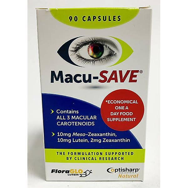 MacuSave Eye Supplement - x90, for Macular Health