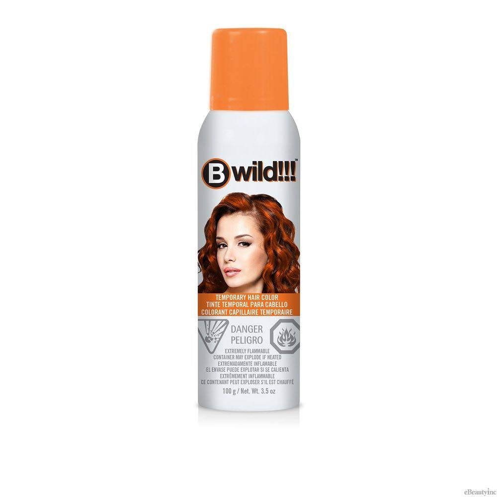 Jerome Russell B Wild Color Spray - Tiger Orange, 3.5oz