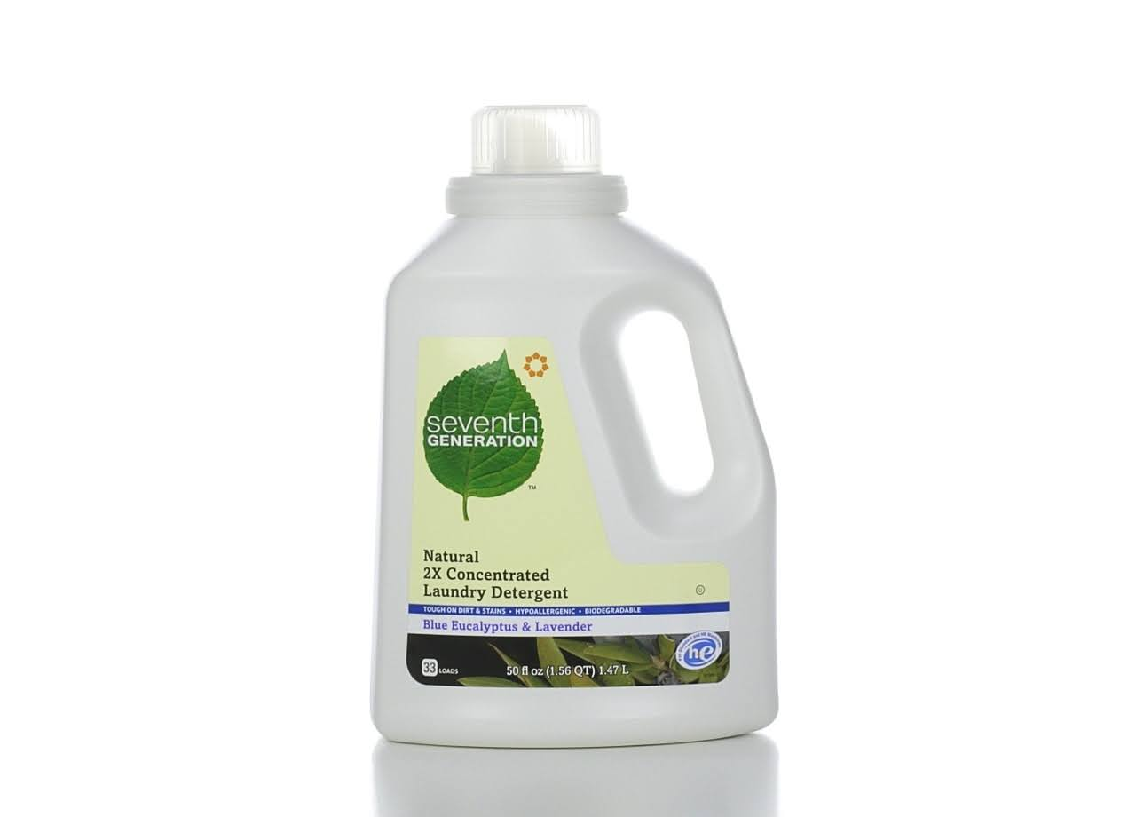 Seventh Generation Liquid Natural Laundry Detergent - Lavender and Blue Eucalyptus, 1.47L