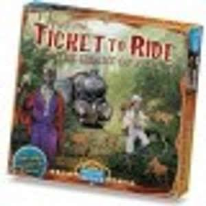 Ticket to Ride: The Heart of Africa Board Game